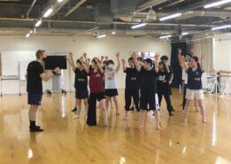 【ダンス部】ジョフ・ポプラヴスキー(舞踊家)さんによる特別レッスンを受講しました!
