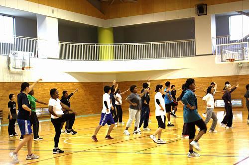 地域住民を対象にした運動教室